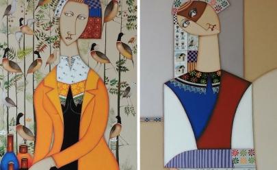 Exposição em Brasília reúne pinturas do artista Tony Lima