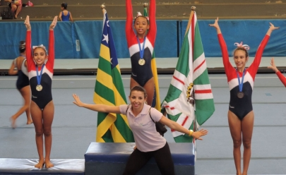 Atletas da Iniciação Esportiva representam Goiás em evento internacional de ginástica artística
