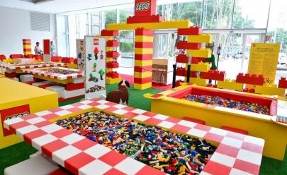 Casa Lego chega em Goiânia para entreter as crianças com espaços temáticos e coloridos
