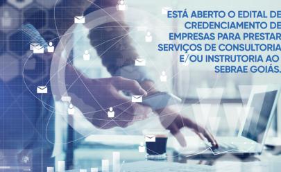 Sebrae Goiás prorroga inscrições para credenciamento de consultores e instrutores