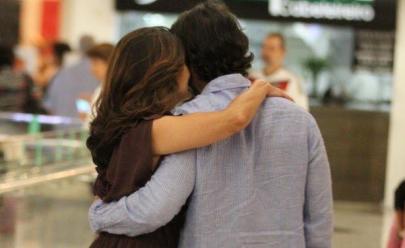 Fátima Bernardes aparece pela primeira vez em público com o novo namorado