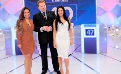 Silvio Santos chama Simone de 'gorda' e a irmã Simaria não retruca: 'é gostosa'