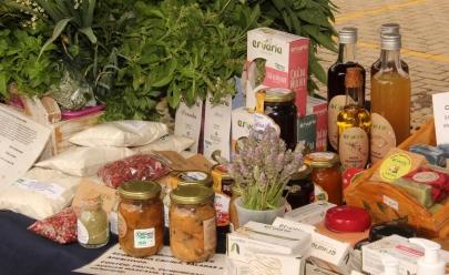 Feira reúne alimentos orgânicos, música e espaço de convivência para as famílias em Goiânia