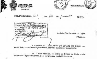 É criado oficialmente em Goiás o Dia do Digital Influencer