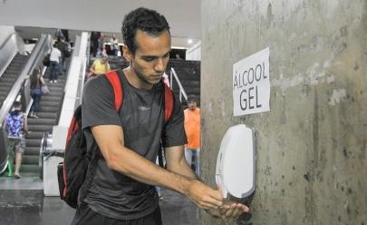 Coronavírus: pontos com álcool em gel são instalados na Rodoviária do Plano Piloto