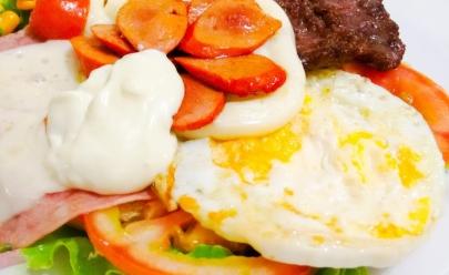 Sanduíche no prato é sucesso em Anápolis