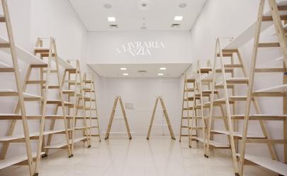 Shopping de Goiânia promove 'Livraria Vazia' para arrecadar livros e estimular a leitura