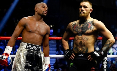 A 'Luta do Século': embate entre Mayweather Jr e Conor McGregor já tem data e local para acontecer