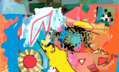 Cores fortes e vibrantes marcam exposição com entrada gratuita em Uberlândia