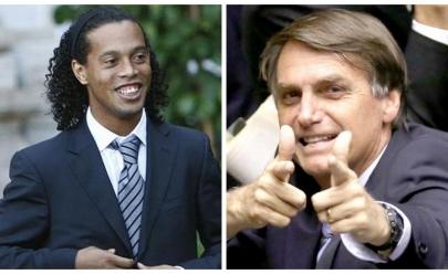 Ronaldinho Gaúcho vai disputar o Senado em 2018 no mesmo time de Bolsonaro