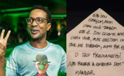 Luis Miranda desabafa no Facebook após ter se sentido ofendido e vítima de racismo