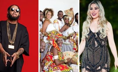 Réveillon em Brasília terá shows de Emicida, Ilê Aiyê e Naiara Azevedo
