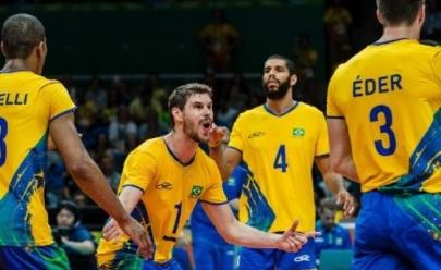 Goiânia recebe seleção de vôlei masculina pela Liga das Nações