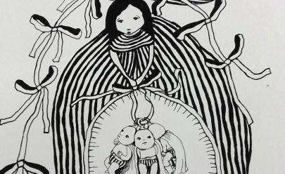 Exposição gratuita de obras de arte em Goiânia mostra detalhes sobre a maternidade