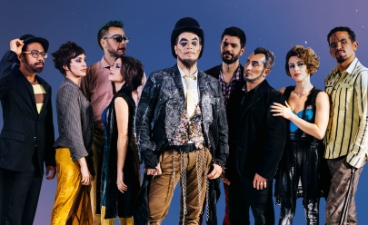 O Teatro Mágico faz show em Goiânia