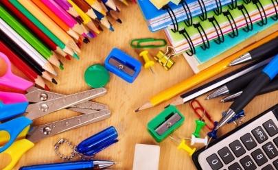 Shopping arrecada material escolar para doação em Goiânia