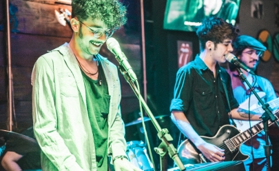 Banda GAWGAV realiza show beneficente em Goiânia