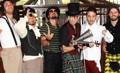 Terra Celta faz show em evento de St. Patrick's Day em Goiânia