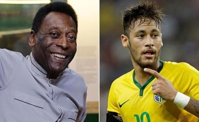 Revista afirma que Neymar é o melhor depois de Pelé e divide opiniões