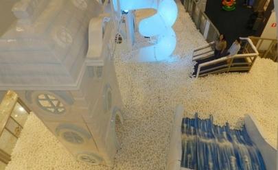 Uberlândia recebeCircuito Magic Snow com piscina de bolinhas gigante e infláveis radicais