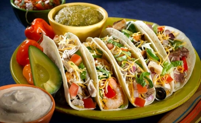 Rodízio de comida árabe e mexicana acontece em Goiânia com preço acessível