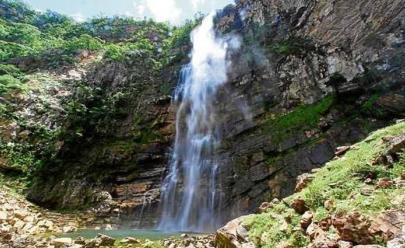Cachoeira do Label em São João d'Aliança (GO) tem a maior queda d'água nos arredores de Brasília