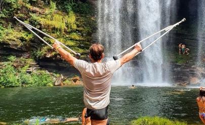 'Saci trilheiro' faz sucesso no Instagram com histórias de viagens e superação nos roteiros de Goiás e do mundo