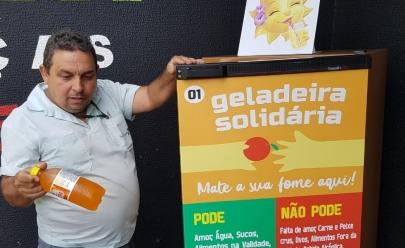 Empatia e combate à fome: projeto 'Geladeira Solidária' chega em Uberlândia