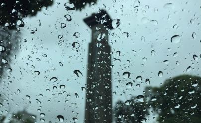 Meteorologia prevê chuvas com trovoadas nesta terça-feira em Goiânia