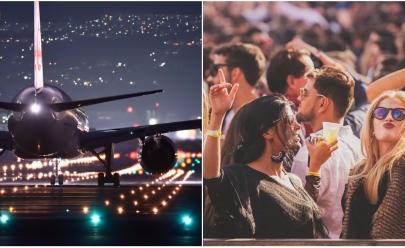 Pela primeira vez, Aeroporto de Uberlândia vira cenário para festa de alto padrão
