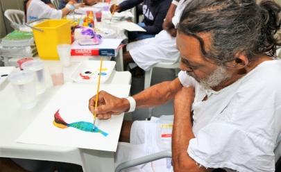 Hospital de Goiânia utiliza arte como terapia no tratamento de pacientes