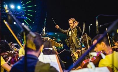 Orquestra faz show em Brasília com tributo ao Led Zeppelin