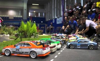 Pista de RC Drift chega para agitar o Shopping Bougainville em Goiânia