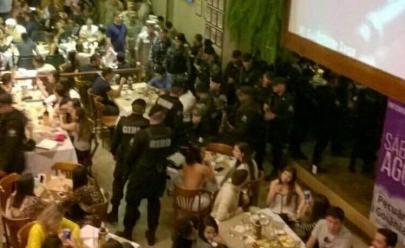 Vídeo mostra fiscalização em bares do Setor Marista e causa revolta da Abrasel-GO: 'constrangimento'