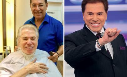 Silvio Santos volta de férias e grava programa com 'novo' visual