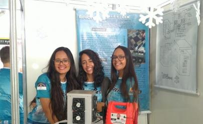 Estudantes da rede pública do DF criam micro-ondas ao contrário com capacidade de gelar bebidas em até um minuto