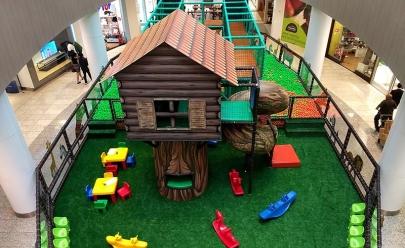 Selva Mágica é atração em Uberlândia para divertir a criançada