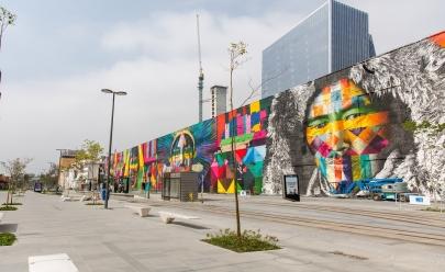 Livro dos recordes reconhece mural de Eduardo Kobra como o maior grafite do mundo