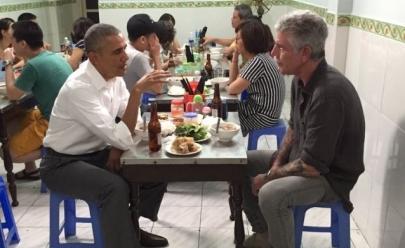 Obama tem jantar de 6 dólares no Vietnã