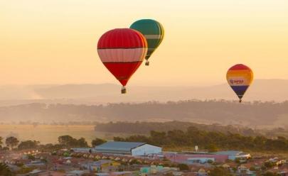 Terceira edição do Festival de Balonismo vai colorir os céus de Anápolis, Goiás