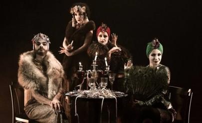 Elenco da peça Boca de Ouro participa de bate-papo com o público na Oficina Cultural de Uberlândia