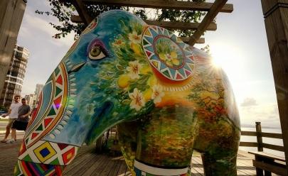 Exposição com elefantes em tamanho real chega ao Brasil
