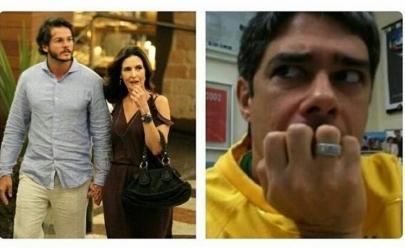 Namoro de Fátima Bernardes vira meme na internet