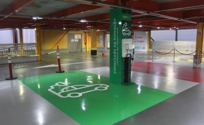 Shopping em Goiânia é o primeiro a oferecer 'vaga verde' aos clientes