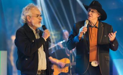 Sérgio Reis e Renato Teixeira trazem o show 'Amizade Sincera' para Goiânia