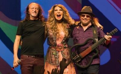 Grande Encontro: Elba Ramalho, Alceu Valença e Geraldo Azevedo dividem o palco em BH