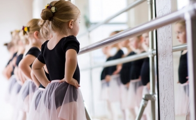Uberlândia tem aulas gratuitas de balé clássico para crianças