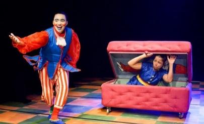 Teatro infantil mescla o real com brincadeira em Goiânia