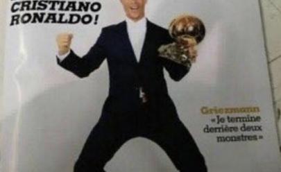 Revista antecipa Cristiano Ronaldo como vencedor da Bola de Ouro