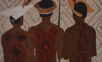 Artista mineira exibe obras sobre universo indígena em Uberlândia